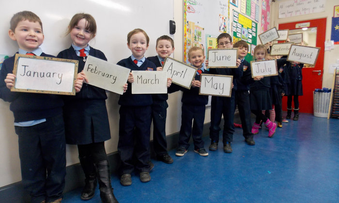 Senior Infants and Months of the Year
